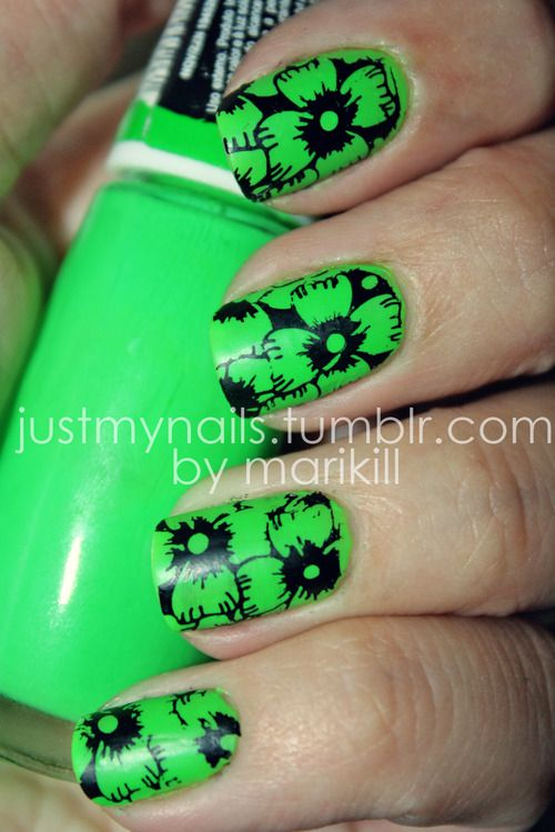 Mejores 14 imágenes de Nails/Color en Pinterest | La uña, Uñas de ...