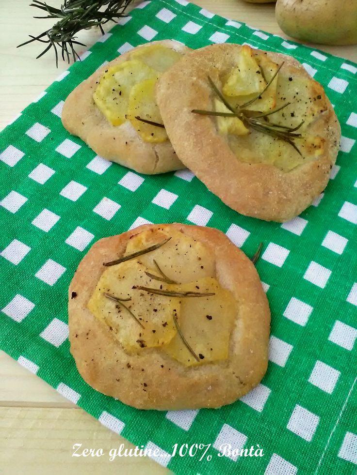 Pizzette con patate (senza glutine )