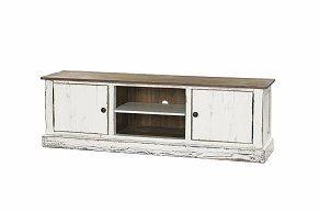 Isadora TV-bänk 160 furu/vit