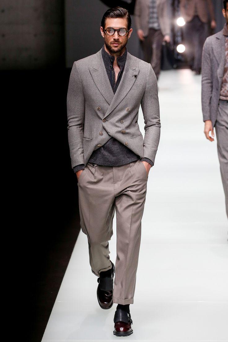 Giorgio Armani Fall 2018 Menswear Fashion Show Collection