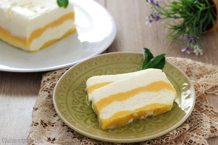 Semifreddo al limone e panna morbido e cremoso Dulcisss in forno by Leyla