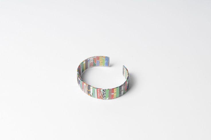 Soda can-strips bracelet (width: 1.7cm)