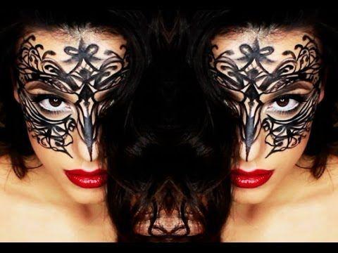 Maschera di carnevale con eyeliner - VideoTrucco
