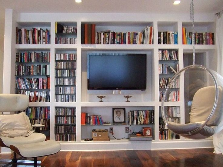 Living Room Bookcases And Storage Solution Design Inspirations Fancy White Hardwood Built In With Media Center Cabinetry As