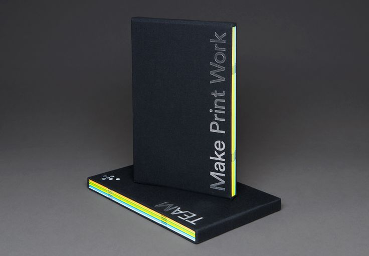 Visual identity and brochure for Leeds based print production business Team Impression by Design Project