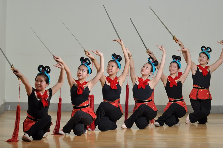 Learn more about the tradition of Chinese sword dancing