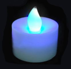 LED Flameless Candles Multicolored 4pack -- Only $24.99 ** Free Shipping -- www.GadgetPlus.ca