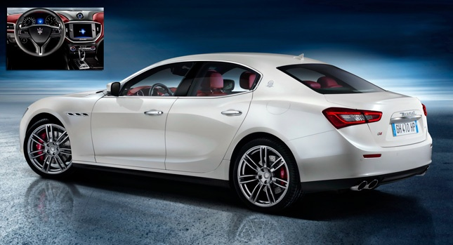 Maserati Officially Reveals New 2014 Ghibli Sedan, Confirms Turbod V6 Petrols and Diesel