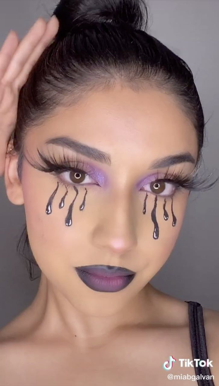 The Draw My Makeup Challenge Is All Over Tiktok Here S What It Is Makeup Challenges Makeup Beauty Video Ideas