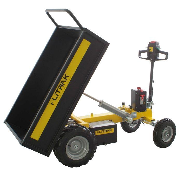 Battery Electric Wheelbarrow - Alitrak JT300L
