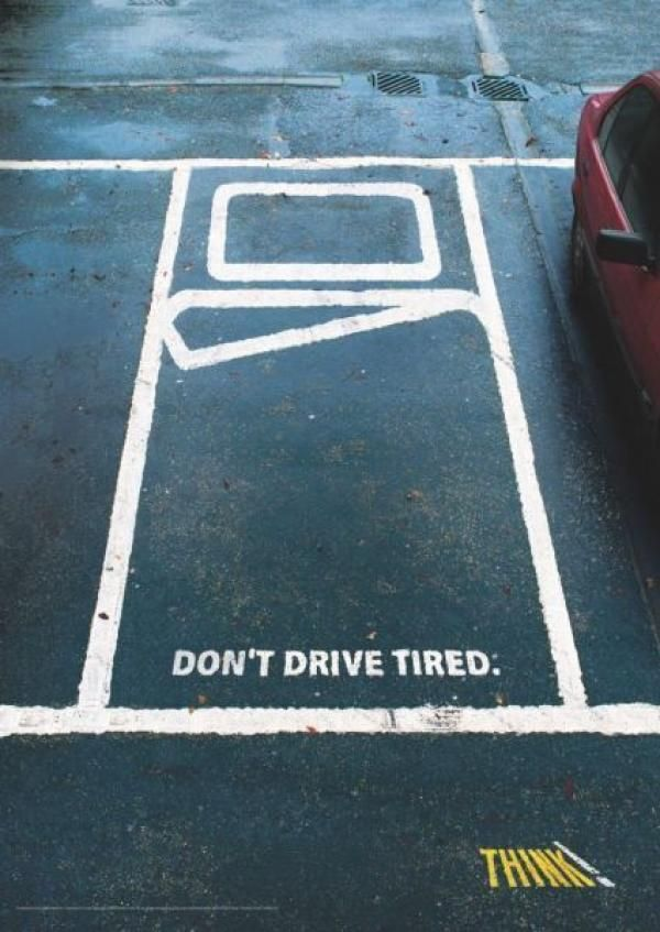 Driving while tired is a major risk increasing factor. Thanks again ThinkUK!