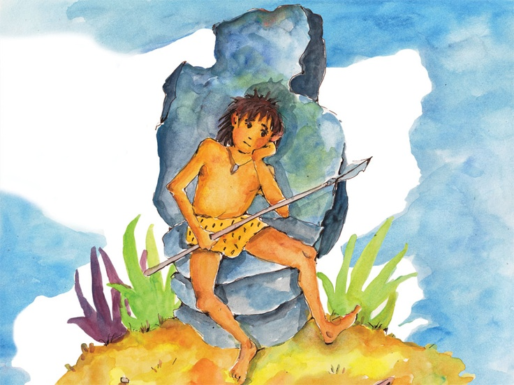 Ug, the boy from the stone age.