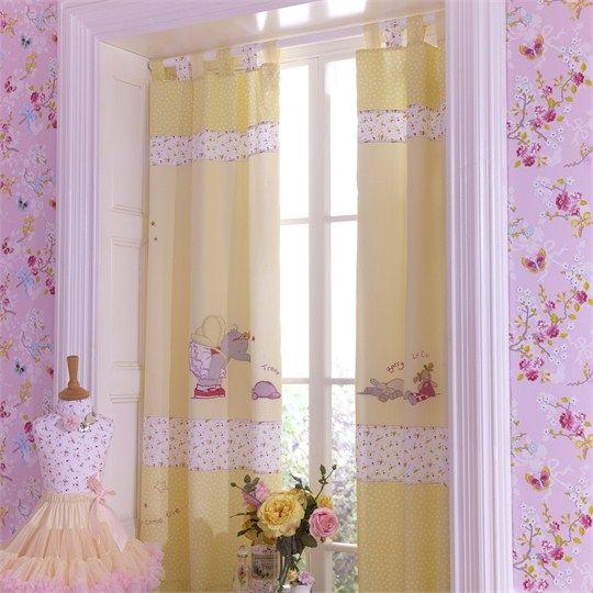 Humphrey's Corner Lottie Fairy Princess Tab Top Curtains