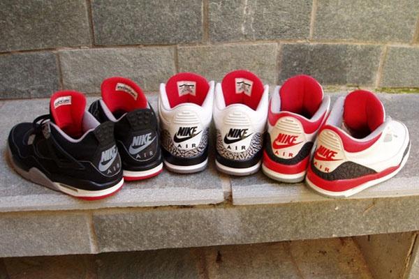 Og Fire Red 4s Og Air jordans Bred 4s...