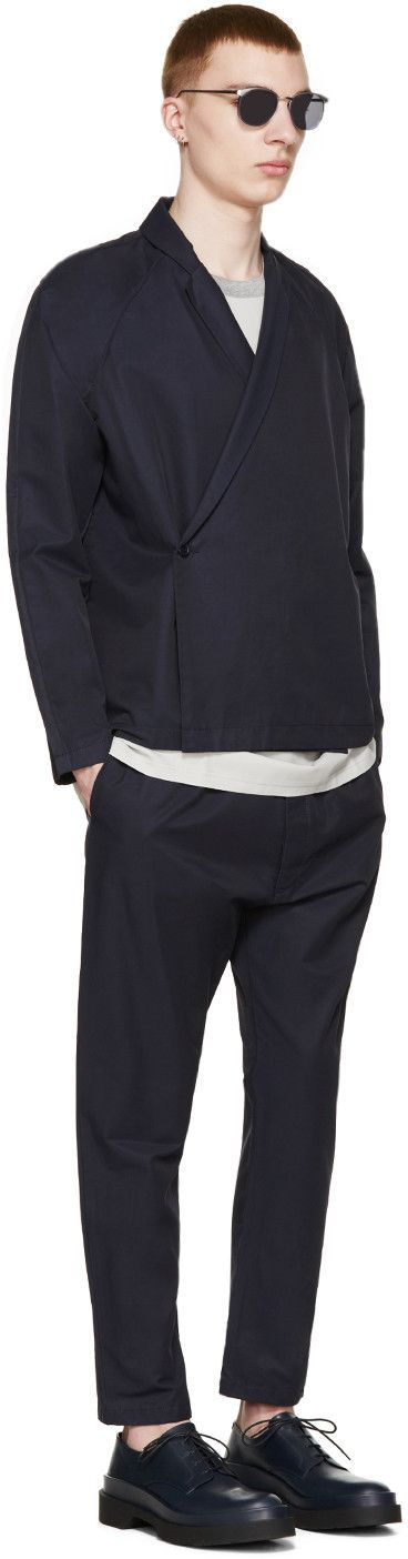 Sunnei - Navy Kimono Blazer