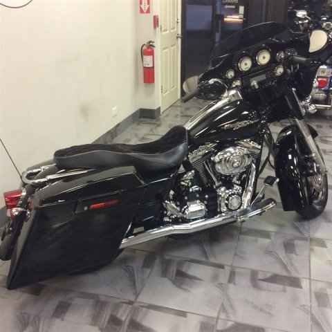 Used 2007 Harley Davidson FLHX STREET GLIDE Motorcycles For Sale in Illinois,IL. 2007 Harley Davidson FLHX STREET GLIDE, , GREAT BIKE AT A GREAT PRICE. THIS BIKE HAS TRUE STRETCHEDBAGS, WICKED SOUNDING SET OF PIPES, PAINTED INER FAIRING, CUSTOM SEAT, LOWERED ,AND PLENTY MORE . COME AND SEE THE FASTEST GROWING USED HARLEY DEALER IN CHICAGO