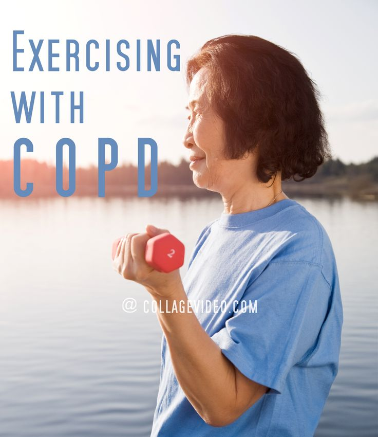 """""""I can't exercise. No way! I'm too short of breath!"""" It's normal to feel this way if you're short of breath with COPD. However, exercise is one of the best things you can do to be less short of breath. What not to do: https://www.collagevideo.com/blogs/functional-fitness-with-suzanne-andrews/exercising-with-copd #CollageVideo #collagevideofitness #workout #exercise #workoutdvds #success #goals #motivation #fitnessdvds #fitspo #fitfam #health #Functionalfitness @SuzanneAndrews"""