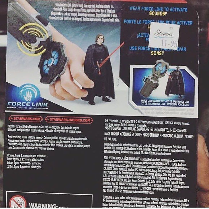 The Back Side of One Figure / Figuras de Episodio 8Los Últimos Jedis en una tienda  Follow / Sigan : @photoygraphy507  #darthvader #theforceawakens #stormtrooper #disney #jedi #sith #love #lego #starwarsfan #yoda #art #r2d2 #marvel #hansolo #bobafett #lukeskywalker #geek #forcefriday #cosplay #darkside #chewbacca #nerd #lightsaber #toys #theforce #instagood #kyloren #episode8 #c3po #thelastjedi