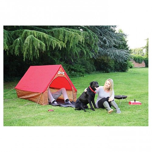 Dog House Human Tent on Yellow Octopus  #giftsformen #fathersday #fathersdaygiftideas #gifts #dog #house #human #tent