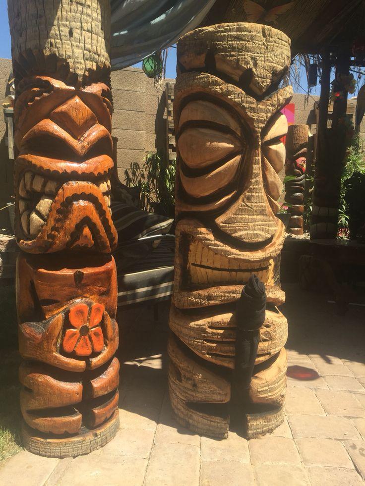 17 Best Images About Tiki Totem Poles On Pinterest Tiki