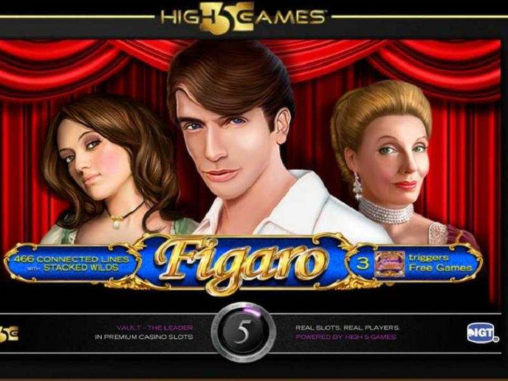 Figaro slot is the creation of game manufacturer High 5 Gaming who are renowned for their upbeat offerings. The title is based according to the times and traditions of the 18th century, and you will be acquainted with all the figures from the play itself including the handsome Figaro, his stunning brunette lover Susanna, The Count Almaviva, the countess Rosina Almaviva as well as Mozart himself. http://free-slots-no-download.com/high-5-games/9946-figaro/