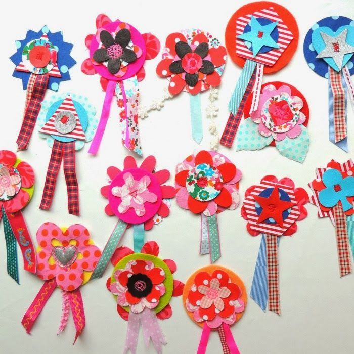 Ards catch22: All into fabric flowers