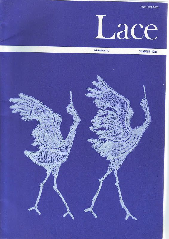 LACE Nº 30 SUMMER 1983 - petus gomez - Álbumes web de Picasa. These dancing cranes are spectacular. Does anyone know who designed them and who made them?