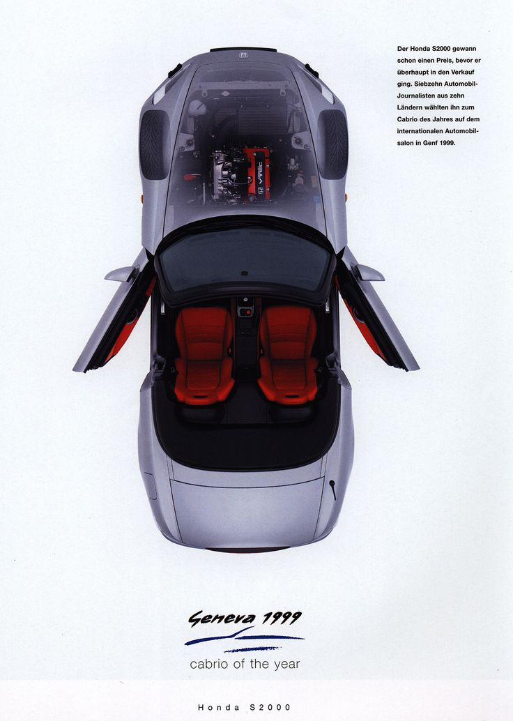 https://flic.kr/p/ENjAh5 | Honda S2000; 1999_3 | car brochure by worldtravellib World Travel library