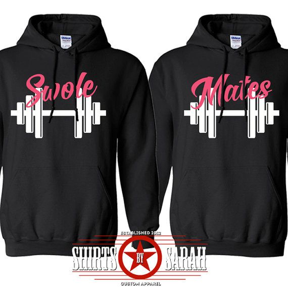 swole mates workout hoodie pullover sweatshirt best. Black Bedroom Furniture Sets. Home Design Ideas