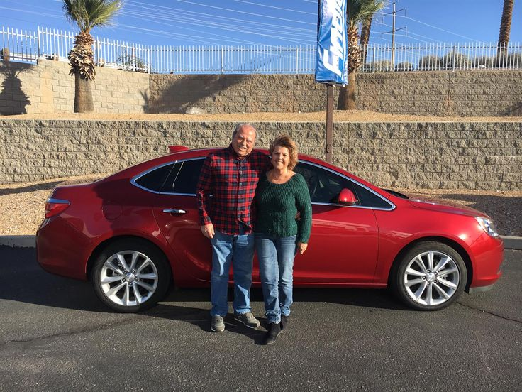 DONNA  AND FRANK 's new 2016 BUICK  VERANO ! Congratulations and best wishes from Findlay Motor Company and MIKE COSTA.