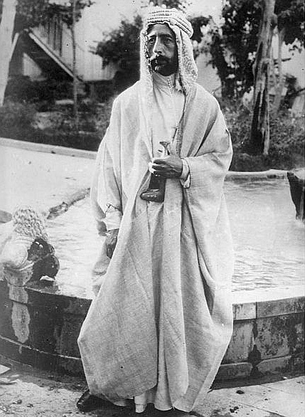 Feisal I, King of Iraq, Saudi Arabia.