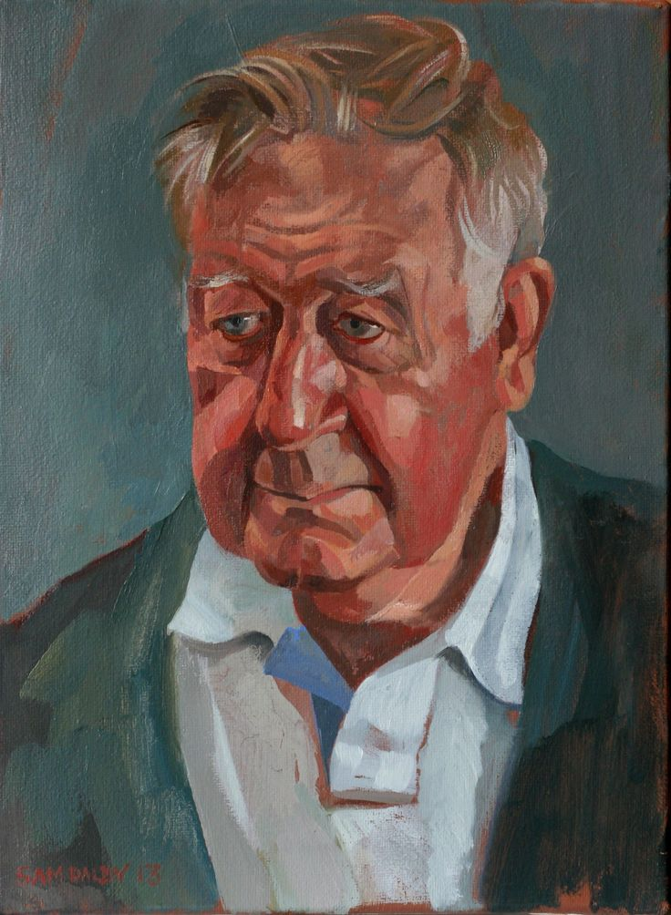 Roger Moss OBE  - by Sam Dalby
