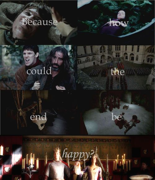 merlin is so depressing!!! But somehow fantastic at the same time