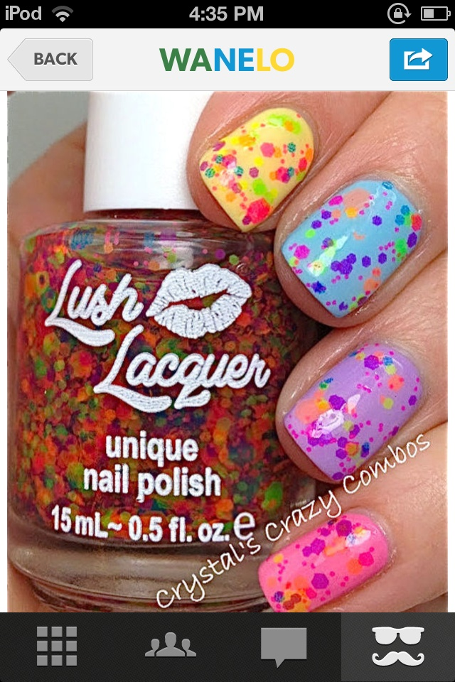 Awesome nail polish and super easy