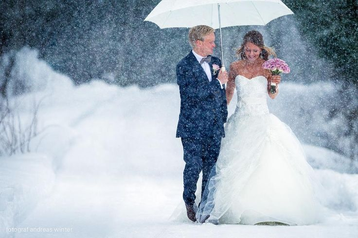 Winter wedding  -  West coast of Norway