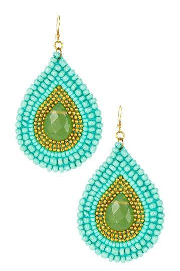 Navajo Earrings by Cam & Zooey on @HauteLook