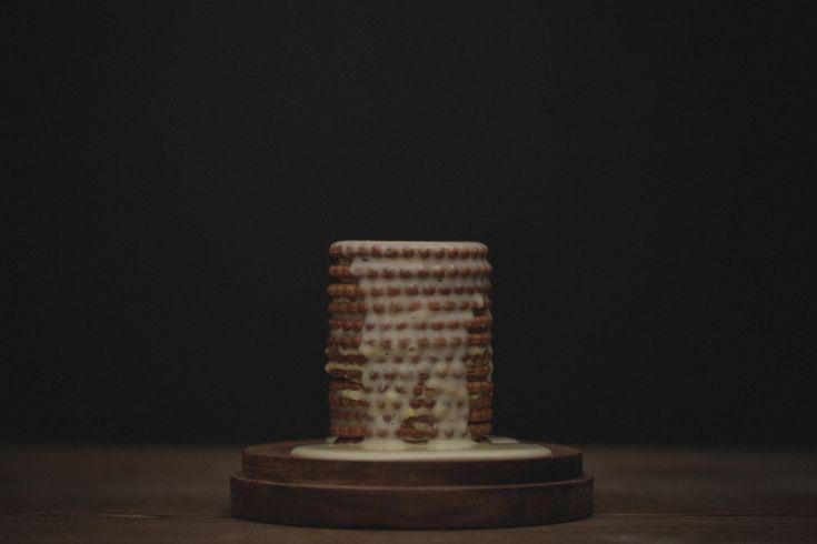 Torre doce de bolacha