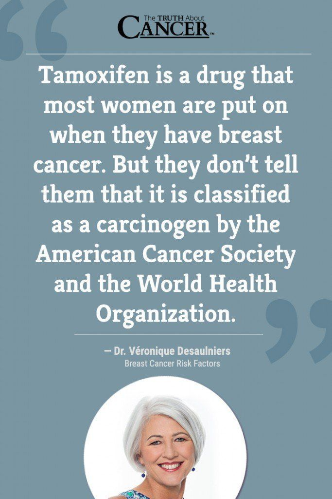 """TAMOXIFEN: In this video, cancer researcher Ty Bollinger speaks with """"Breast Cancer Conqueror"""" Dr. Veronique Desaulniers (Dr. V) about preventative surgery and if you can inherit the breast cancer gene. The full interview with Dr. V is part of the """"The Truth About Cancer: A Global Quest"""" docu-series. Click on the quote above to watch the video. #breastcancerfacts"""