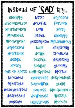 Synonym Posters Can You Think Of A Better By Sarah Holland Teachers Pay Teachers Good Vocabulary Words Writing Words Essay Writing Skills