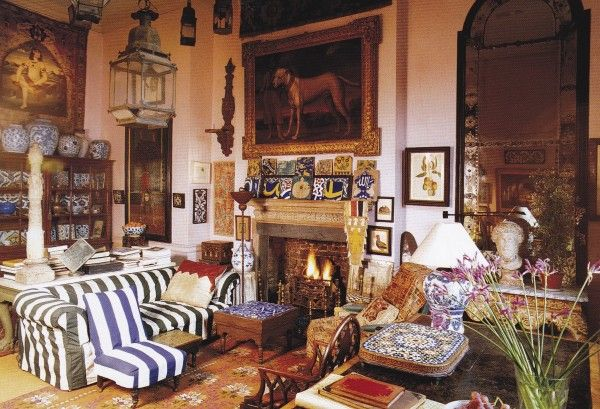 Peter Hinwood's London Drawing Room