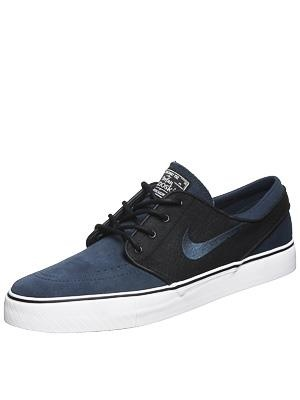 Black and Deep Ocean Janoski's!!