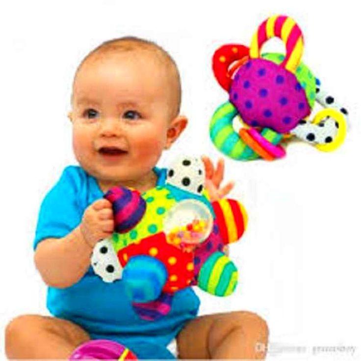 Baby Developmental Bumpy Ball Toddler Sassy Toy Infant Soft Fun Toys Bright Baby