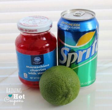 Copycat Sonic Cherry Limeade - Raining Hot Coupons