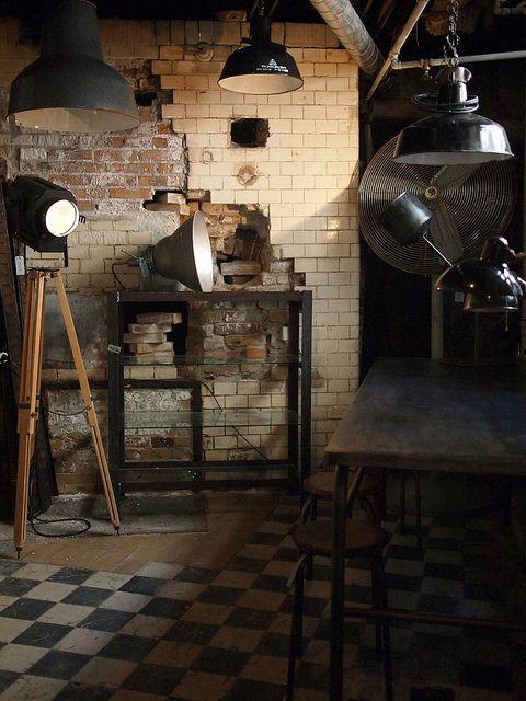 Copenhagen by What Katie Does. Industrial lighting