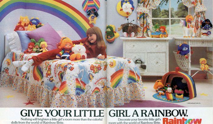 Étranges kits de chambre à coucher d'enfants des années 80 | Flambant Luxe