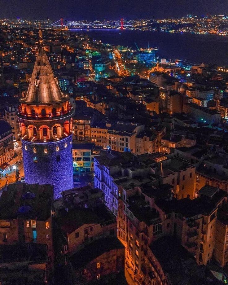 İstanbul, Galata Kulesi – #Galata #Istanbul #Kule…
