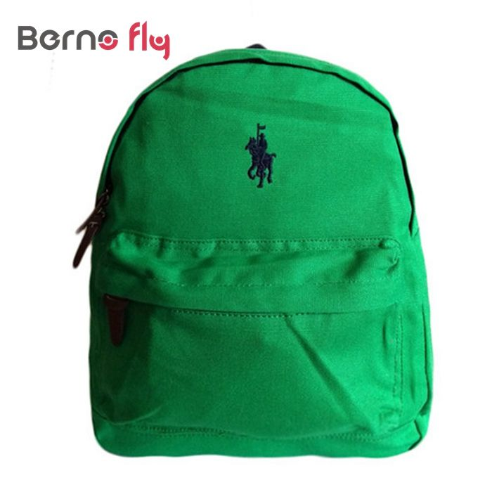 Hot Cute anti-lost canvas backpack Kids cotton mochila infantil High quality satchel bag boy girls backpack Children polo bags