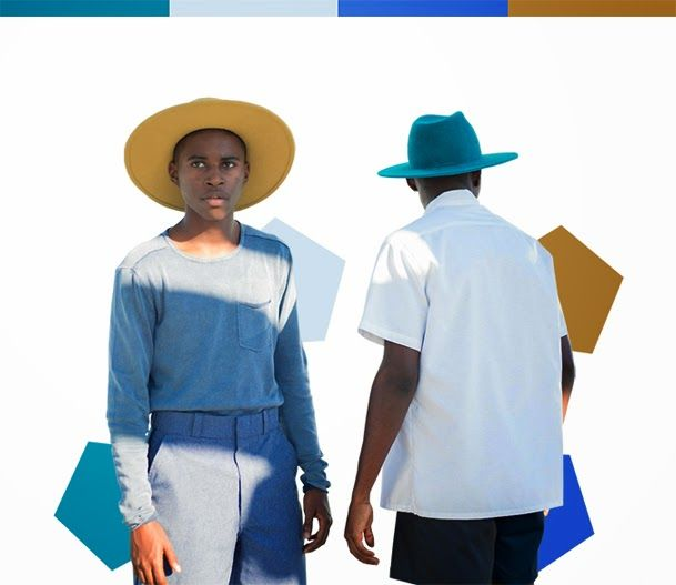 The Durinel Twins of France-Guadelope-Los Angeles - Double Vision: Meet the Pairs of Twins Who Are Revolutionizing African Fashion (PHOTOS)�|�Chayet Chi�nin