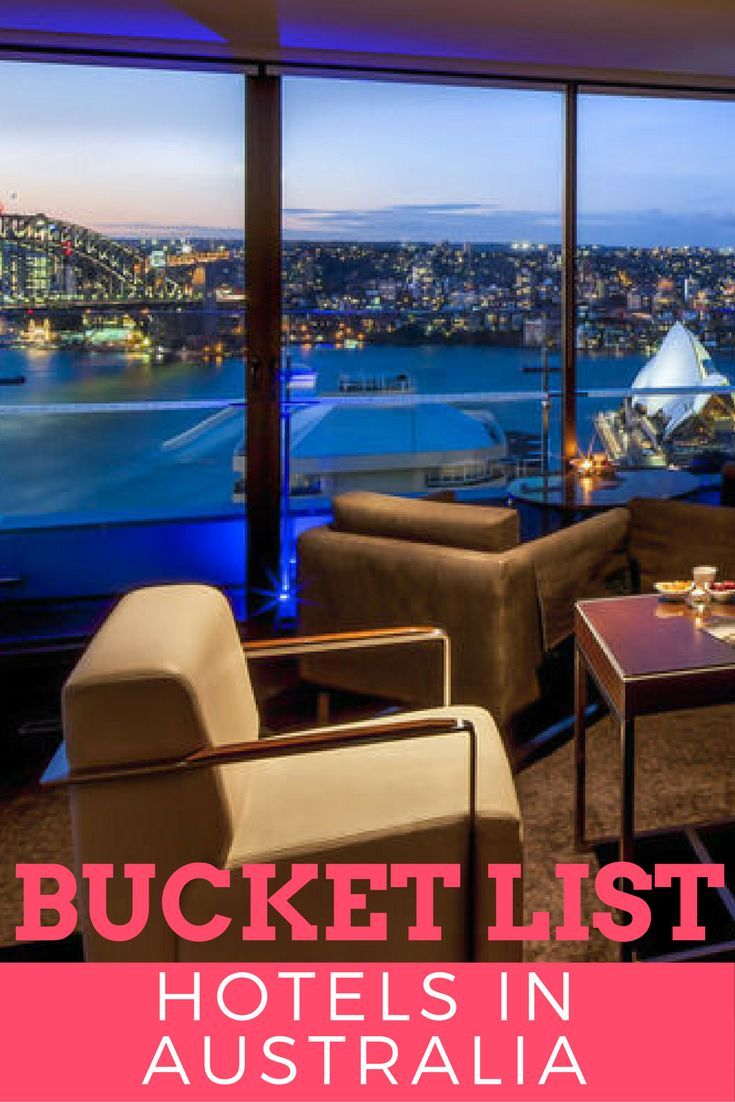 Luxury hotels in Australia | Bucket list hotels in Australia | Luxury Travel | Australia Hotels | Where to stay in Australia