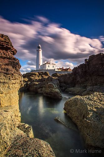 St Mary's Lighthouse - Northeast, England